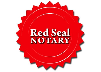 Burlington notary public Red Seal Notary