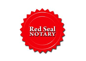 Cambridge notary public Red Seal Notary