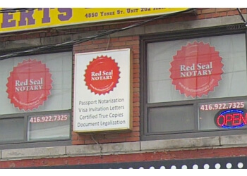 Toronto notary public Red Seal Notary