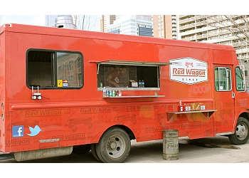 Calgary food truck Red Wagon Diner Food Truck