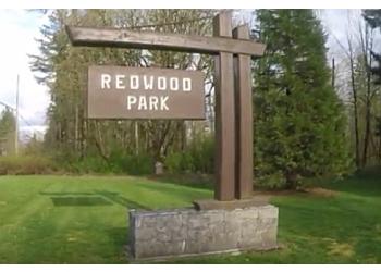 Surrey public park Redwood Park