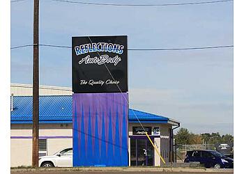 Edmonton auto body shop CSN Collision Centers Reflections