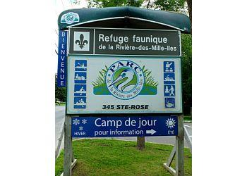 Laval public park Refuge faunique de la Rivière-des-Mille-Îles