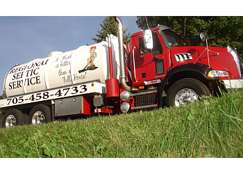 Barrie septic tank service Regional Septic Service