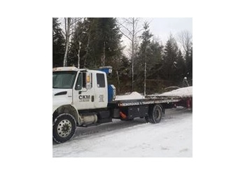 Quebec towing service Remorquage CKM Express