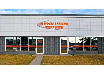 Edmonton car repair shop Revolution Motors