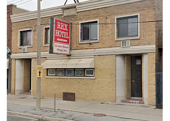Welland pizza place Rex Hotel Pizza