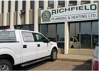 Edmonton plumber Richfield Plumbing & Heating Ltd.