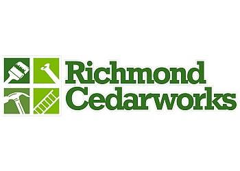 Richmond fencing contractor Richmond Cedarworks