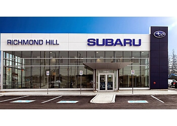 Richmond Hill car dealership Richmond Hill Subaru