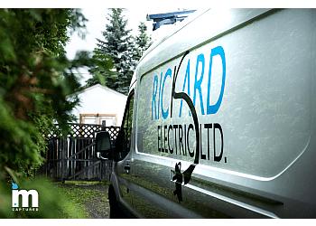 Fredericton electrician Rickard Electric Ltd.