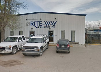 Saskatoon fencing contractor Rite-Way Fencing Inc.