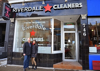 Toronto dry cleaner Riverdale Cleaners