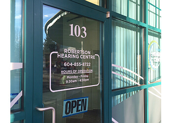 Abbotsford audiologist Robertson Hearing Centre