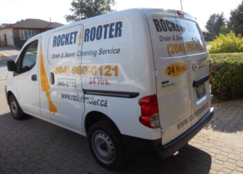 Winnipeg plumber Rocket Rooter inc.