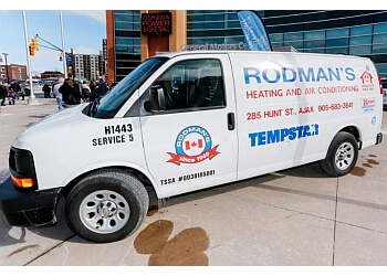 Ajax hvac service Rodman's Heating & Air Condition