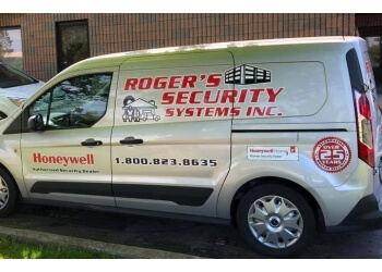 Burlington security system Roger's Security Systems Inc.