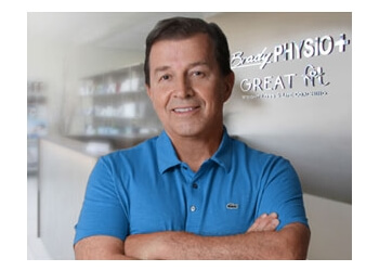 Sudbury physical therapist Ron McMahon, PT