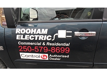 Kamloops electrician Rooham Electric