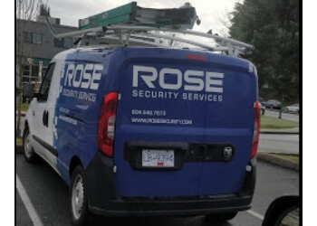 New Westminster security system Rose Security Services