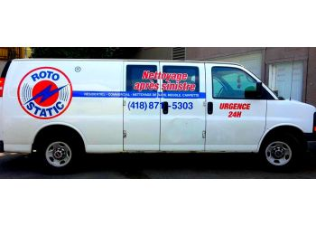 Quebec carpet cleaning Roto-Static