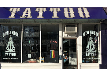 New Westminster tattoo shop Royal Anchor Tattoo