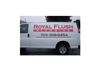 Barrie plumber Royal Flush Plumbing