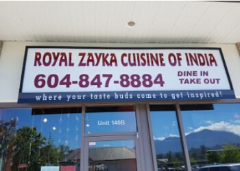 Chilliwack indian restaurant Royal Zayka