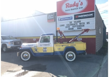Winnipeg car repair shop Rudy's Auto Service