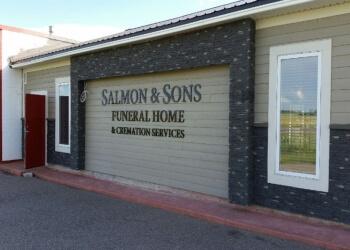 Lethbridge funeral home Salmon & Sons Funeral Home Ltd.