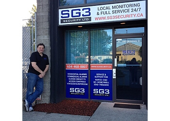 Port Coquitlam security system SG3 Security Services Ltd.
