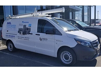 Quebec hvac service SGL Climatisation Chauffage