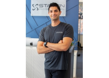 Port Coquitlam physical therapist SHAFEEN HIRJI, pT