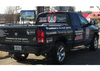 Quebec plumber SOS Plomberie