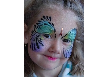 Victoria face painting SPARKLE SHACK BODY ART