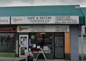 Vancouver locksmith Safe & Secure Locksmith Ltd.