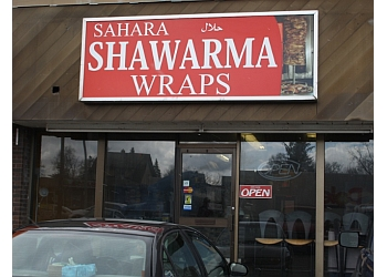 Niagara Falls mediterranean restaurant Sahara Shawarma Wrap