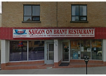 Burlington vietnamese restaurant Saigon On Brant Restaurant