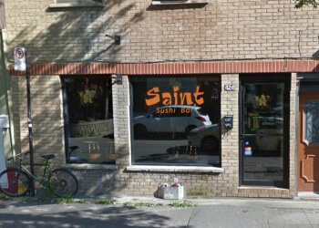 Montreal sushi Saint Sushi Bar
