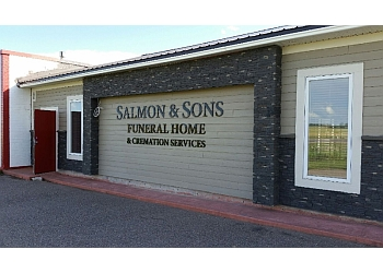 Lethbridge funeral home Salmon & Sons Funeral Home Ltd.