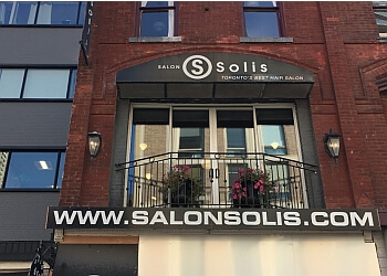 Toronto hair salon Salon Solis