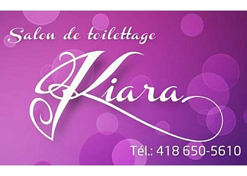 Quebec pet grooming Salon de toilettage Kiara
