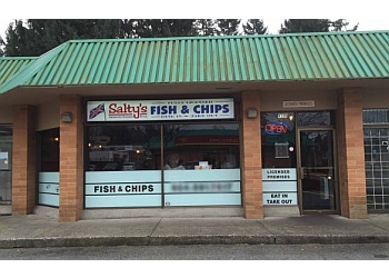 Delta fish and chip Salty's Fish & Chips