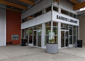 Chilliwack landmark Sardis Library