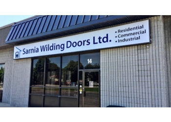 Sarnia garage door repair Sarnia Wilding Doors ltd.