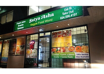 Surrey vegetarian restaurant Satya Asha Veggie Food World