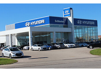 Waterloo car dealership Schlueter Hyundai