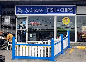 Oshawa fish and chip Schooner Fish & Chips