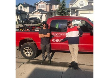 Calgary lawn care service Scoop, Cut N' Shovel