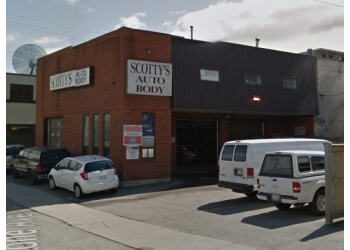 Ottawa auto body shop Scotty's Auto Body Ltd.